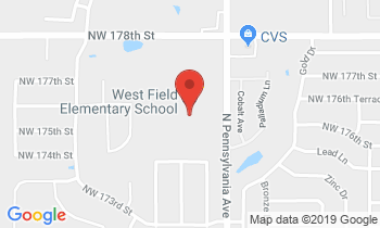 Clickable Map for West Field Elementary 17601 N. Penn Edmond, OK 73012